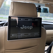 2019 Latest Car Television Auto TV Monitor In The Headrest DVD Player For Jeep Cherokee Android Head Rest Monitor 2PCS 11.8 Inch car television auto tv monitor in the headrest screens for range rover defender discovery freelander android head rest monitor