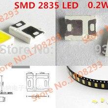 100 шт./лот led 0,2 w smd 2835 светодиоды 24-28lm Светодиоды smd чип лампы излучающий диод для световых полос par Трубное освещение
