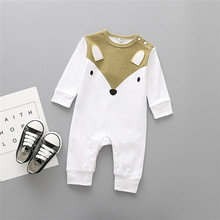цены на Newborn Infant Baby Boy Girl Cartoon Animal Cotton Romper Jumpsuit Clothes Winter Clothes For Baby Clothing в интернет-магазинах