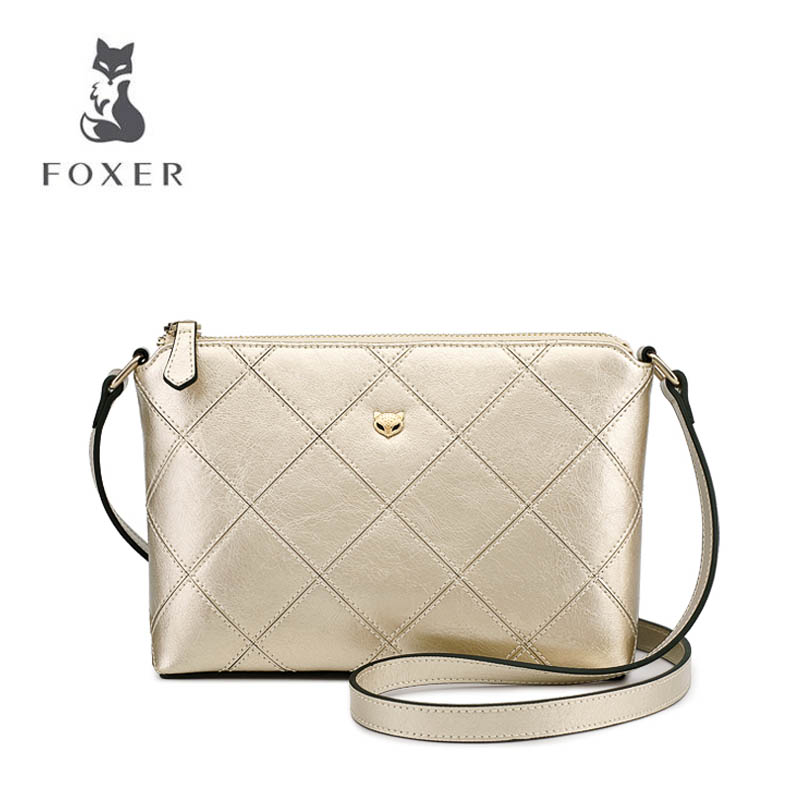 FOXER 2018 New women leather bag fashion Small bag luxury women handbag quality leather shoulder bag Handbags & Crossbody bags women bag new wholesale new explosion landscape shoulder bag handbag fashion handbags manufacturers selling 50