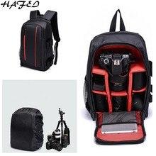HAFEI новая модель Водонепроницаемый Камера сумка Камера чехол для sony Canon Nikon Регулируемый Камера s сумка рюкзак для путешествий