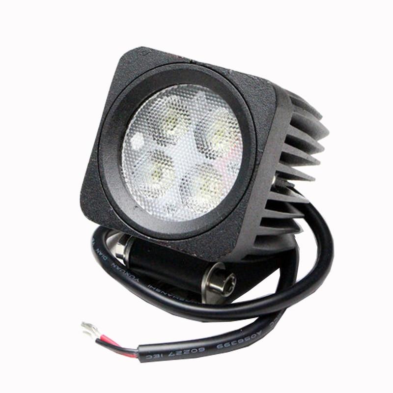 ФОТО Wholesale led work light, train, marine, ship, boat, tank agricultural vehicle led driving lights,12w led work light