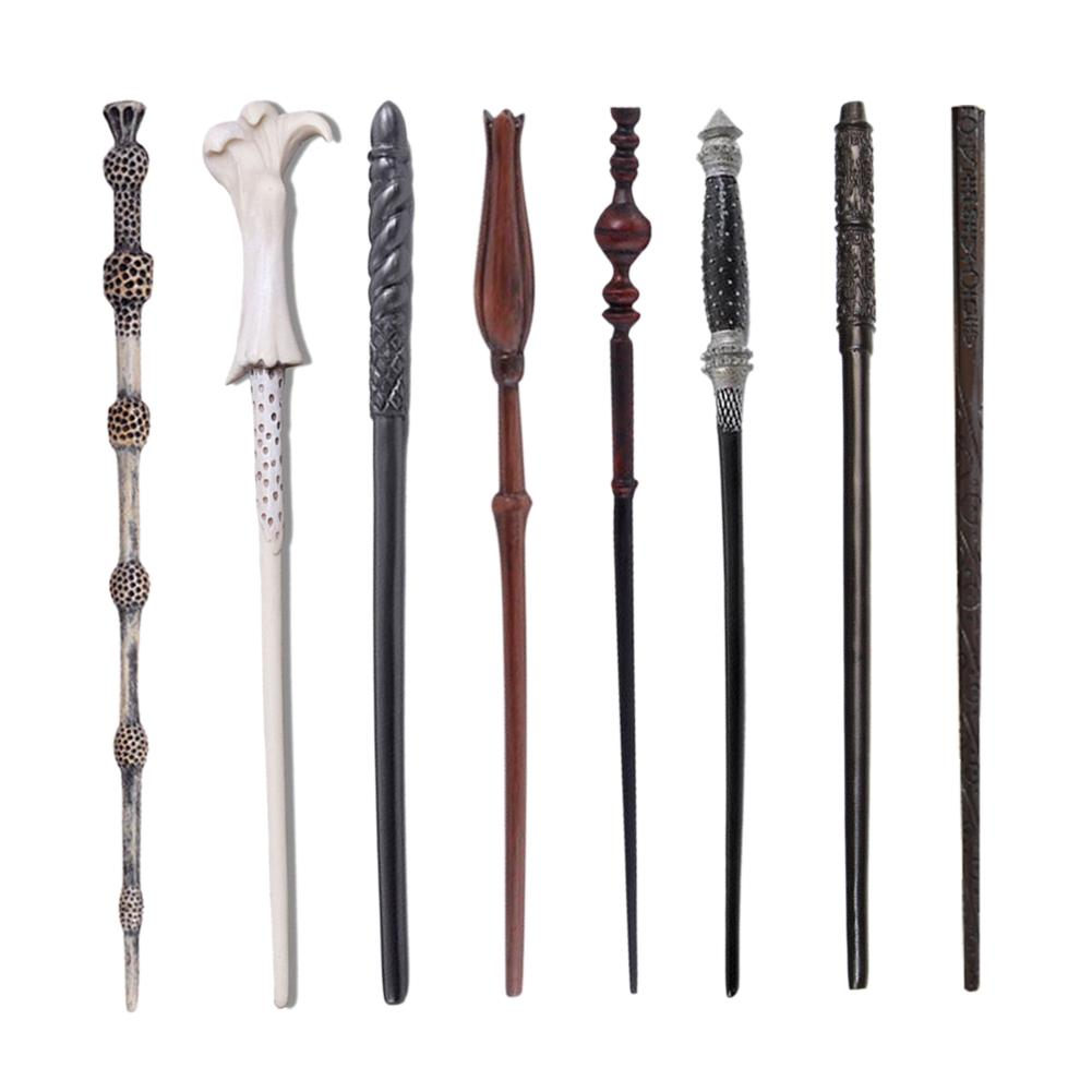 High Quality Magic Wand Cosplay Harri Potter Magic Costumes Kids Stick Halloween Cosplay Carnival Children's Christmas Gift