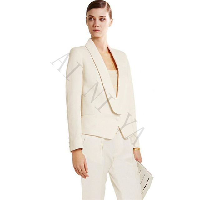 Jacket+Pants Womens Business Suits Female Office Uniform Formal Work Wear  Evening Dinner Ladies Trouser Suit 2 Piece Set 13d3be511