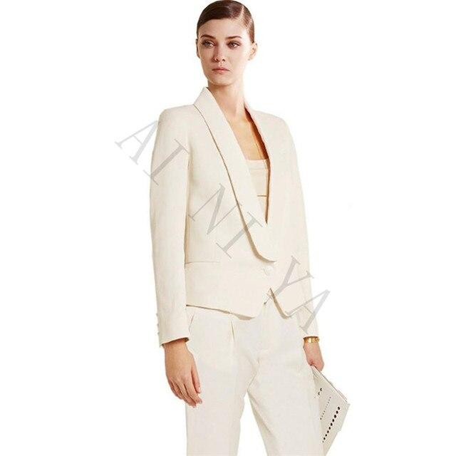 Veste Femelle Pantalon Costumes Uniforme De Femme D'affaires rIdrq