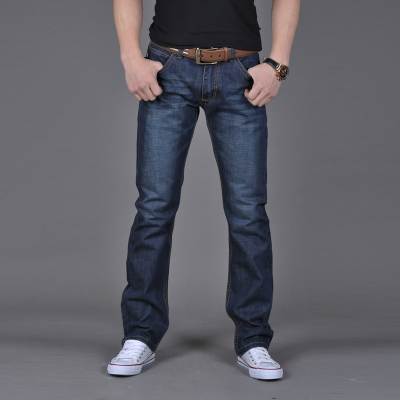 Pants Men Long-Trousers Comfortablejeans Men's Casual High-Quality Fashion Denim Hip-Hop