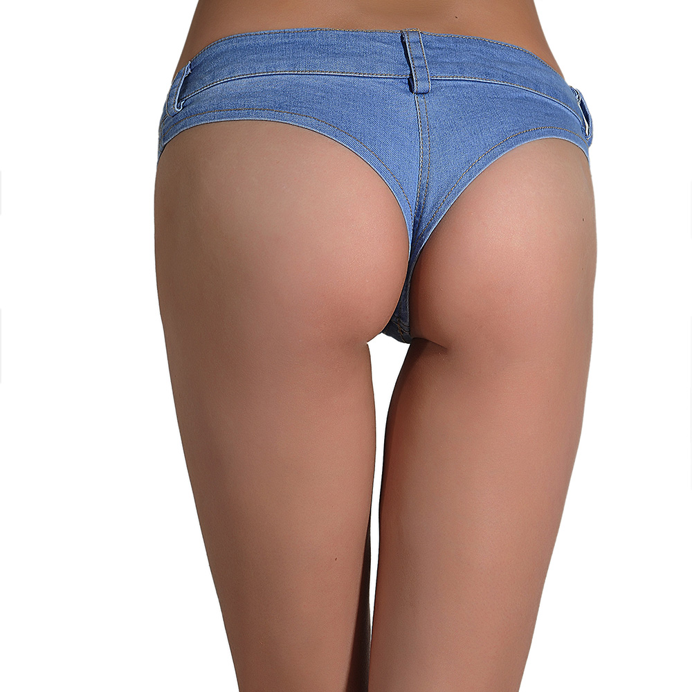 Mujer / Señora Summer Booty Denim Hot Jeans Shorts Vintage Micro - Ropa de mujer - foto 2