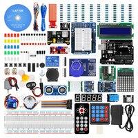 LAFVIN für UNO R3 Projekt Die Meisten Komplette Starter Kit für Arduino mit Tutorial, Schrittmotor, ultraschall Sensor, Jumper Draht