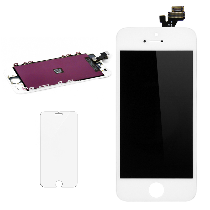 ET Super For Iphone 5 LCD Display Complete Touch Screen Digitizer 2 Color No Dead Pixel