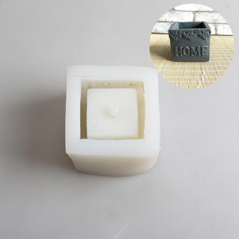 Silikonski kalupi za betonske posude za cementne kalupe za vaze - Umjetnost, obrt i šivanje - Foto 4
