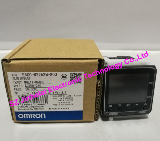 New and original E5CC-RX2ASM-800 OMRON DIGITAL CONTROLLER 100-240VAC купить недорого в Москве