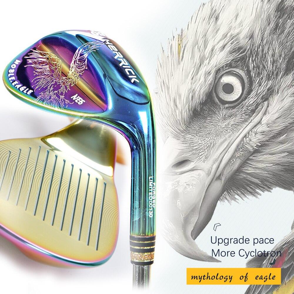 Herrick 50/52/56/58/60 mano destra unisex Colorato Grado Pozzo D'acciaio di colore Reversibile di spin tecnica di Golf club cunei