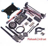 Pixhawk PX4 PIX 2.4.8 32 ビットフライトコントローラー付/4 グラム SD 安全スイッチブザー M8N GPS ミニ OSD PPM RGB I2C 433 100 200mw テレメトリ