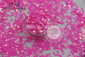 Image 5 - TCT 102 Iridescent Pearlescent colors Glitter Butterfly shape for Nail design nail art and DIY Size:3mm