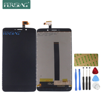 Ferising AAA Original LCD Display For Umi Super Replacement Display Touch Screen Digitizer Assembly Tools Kit