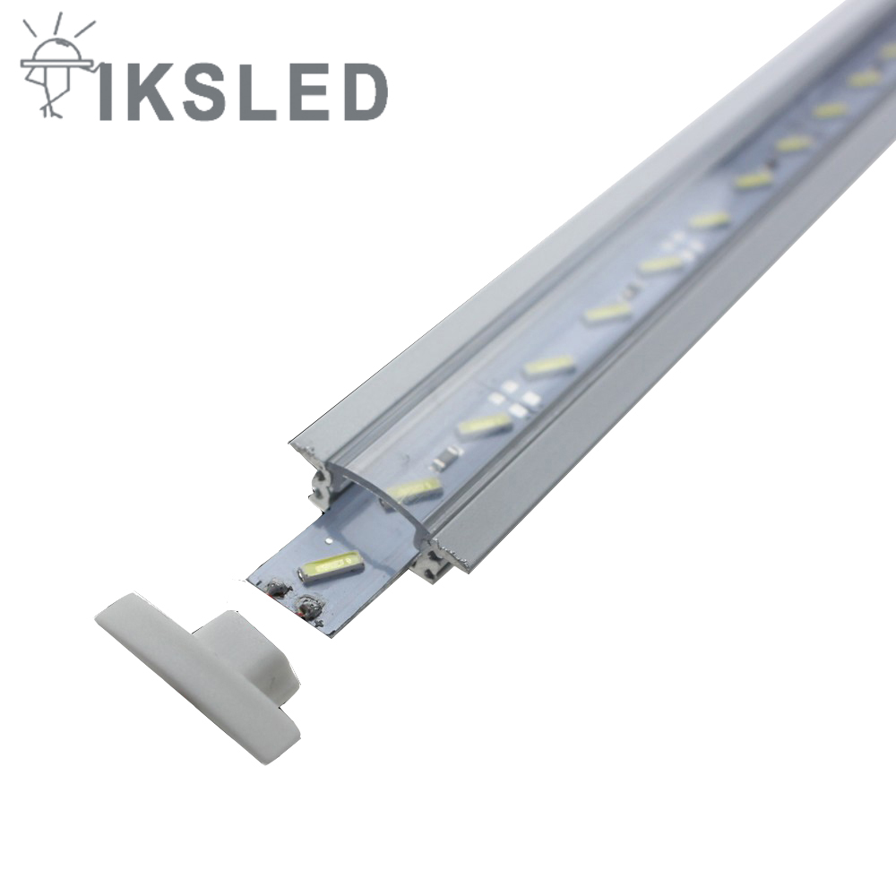 2pcs Dimmable Under Cabinet Strip Lighting7020 7030 9w 50cm Touch Switch Control Kitchen Led Light B Dc12v Rigid Strip Light Touch Switch Control 4pcs 5m 8520 Rigid Strip Dimmable Under