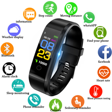 WISHDOIT Smart Bracelet Wristwatch Heart Rate Monitor Blood Pressure Fitness Tracker band Sport Watch for ios android +BOX
