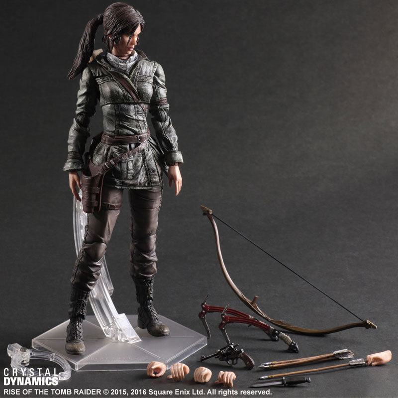 The rise of tomb raider, LauraHand model,Children model toys,Robot. Children gifts, Christmas gifts model fans 27cm the tomb raider action figure lara croft play arts kai toys pvc anime movie toys rise of the tomb raider