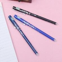 1PCS Erasable Pen 47200 Unisex Magic Gel Pen Ink Colors Black Blue Writing Point 0.5mm Gel-Ink Normal Pens For School Office