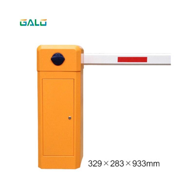 Accès à la gestion de la sécurité GALO, système de barrière de stationnement