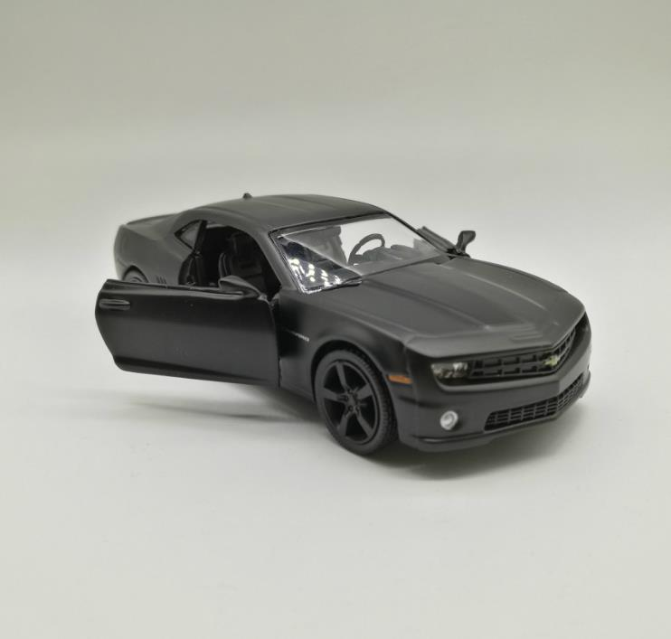 High simulation Chevrolet Camaro super car, 1: 36 scale alloy pull back car model,collec ...