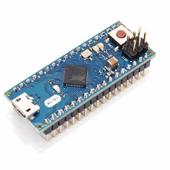 2018 Micro ATmega32u4 5V 16MHZ  Compatible For Arduino Mirco Replace Pro Bpard micro version of Leonardo R3