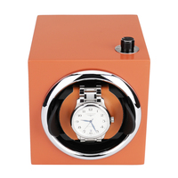 Watch Winder ,LT Wooden Automatic Rotation 1+0 Storage Case Display Box new style