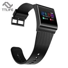 TTLIFE X9 Pro Smart Band OLED Сенсорный экран браслет сердечного ритма фитнес-трекер Водонепроницаемый фитнес-браслет для Xiaomi iphone