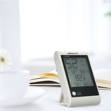 Buy online Electronic temperature instruments Digital Thermometer Hygrometer Temperature Humidity Meter Weather Station Indoor Alarm Clock