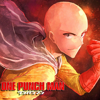 Oct. New Gift Home Textile One-Punch Man Anime Saitama Polyester One-sided Two-sided Square Pillow Case #40972 1