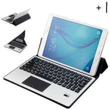 """For Huawei 9/10 inch Tablet Universal Bluetooth Keyboard Case For ASUS Lenovo 10"""" Tablet Flip Leather Stand Cover+Stylus"""