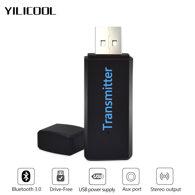 Wireless bluetooth transmitter audio stereo 3.5mm audio transmission usb bluetooth sender transmiter adapter aux for tv computer