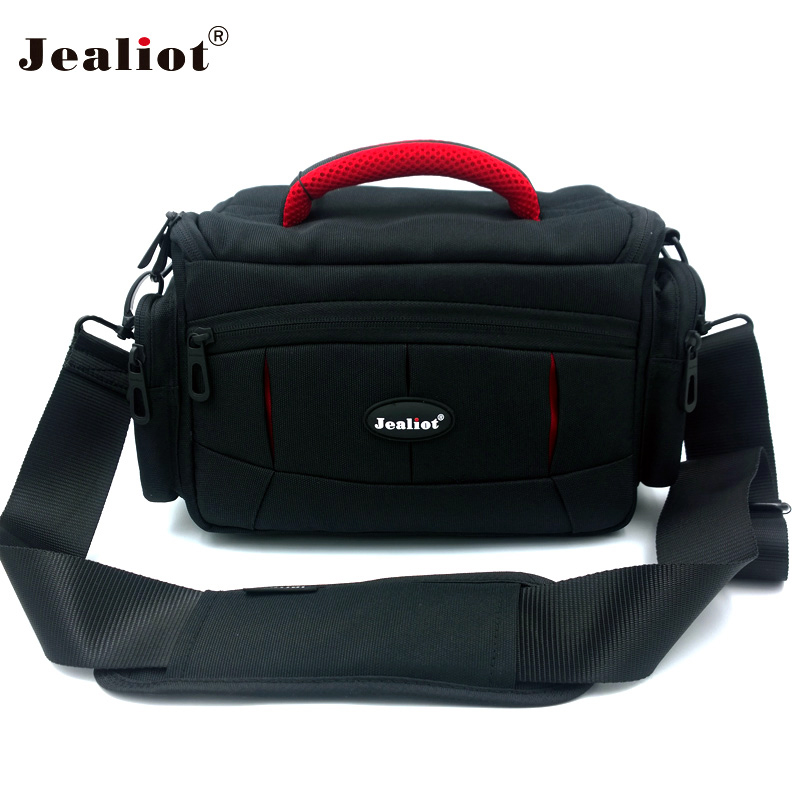 Jealiot Professional Camera bag Camcorder shoulder digital camera bag waterproof shockproof Video Photo case for Canon Nikon jealiot multifunctional professional camera shoulder bag waterproof shockproof big digital video photo bag case for dslr canon