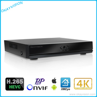 4CH 8CH H 265 P2P Onvif 5MP Network Video Recorder For H 265 H 264 IP