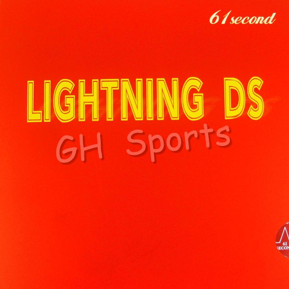 Bezmaksas piegāde, 61second Lightning DS (NON-TACKY) Melna kauliņu - Rakešu sports
