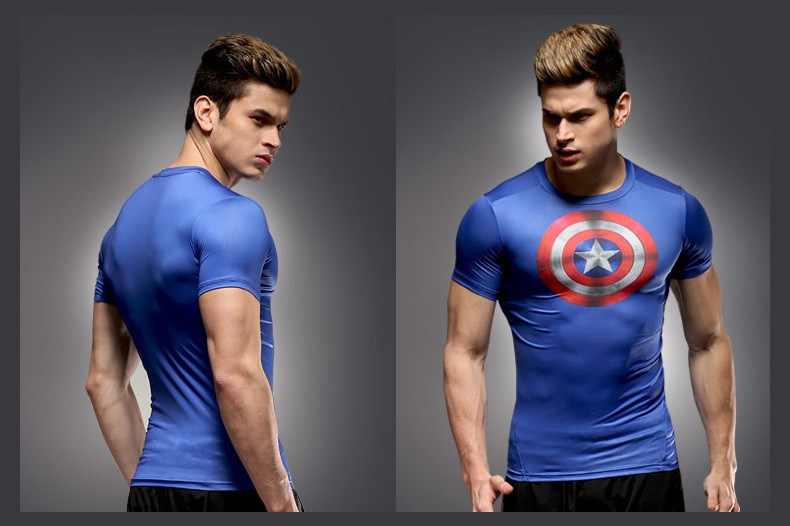 Superhero for Man High-Tech T-shirt - Super Comics Online