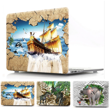 print case Protective shell for Apple macbook pro 12 13 15 15.4 case cover for mac book air 11 13.3