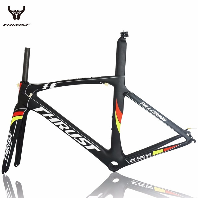 2017 Carbon road frame road bike aero road frame 700c and carbon road bike frame Di2 Toray T800 UD 49/52/54/56/58cm Matte PF30 стоимость