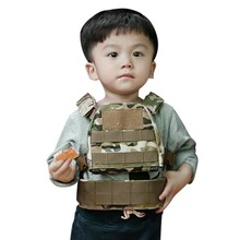high quality Children\\\s Tactical Vest Suit Army Fan  Waist Mini Outdoor Equipment Children vest 8