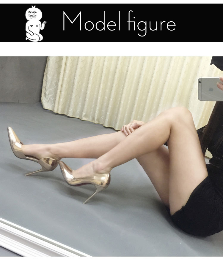 ZHENG PIN JIA REN Women's Shoes New Style Side empty Womens Shoes Pointed Thin with Sexy Nightclub Sweet Fashion Ladies Shoes in Women's Pumps from