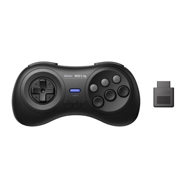 8BitDo M30 2.4G Wireless Bluetooth Game Console Gamepad Controller for Sega Genesis for Sega Mega Drive Devices