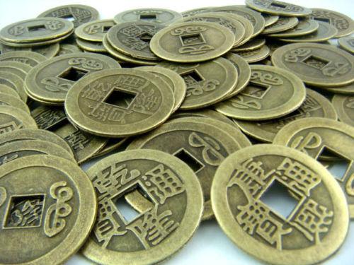 Feng Shui 50 Stücke 2 Cm Ich Ching Münzen Chinesische Alte Münzen