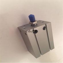 Double Acting Single Rod Bore 16mm SMC type CDU16-10 15 20 25 30 40 50 75 Free Mount Cylinder цена