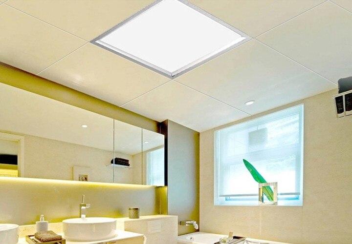 Интегрированный Embeded Ultraplate площади светодиодные потолочные Lights300x300 12 Вт 300x600 24 Вт 600x600 36 Вт Декор для дома кухня лампы светодиодные панели