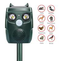 Waterproof Ultrasonic Drive Repellent Outdoor Plug Dog The Solar driven For Cat Animal Wild Camping Anti theft Anti thief Alarm