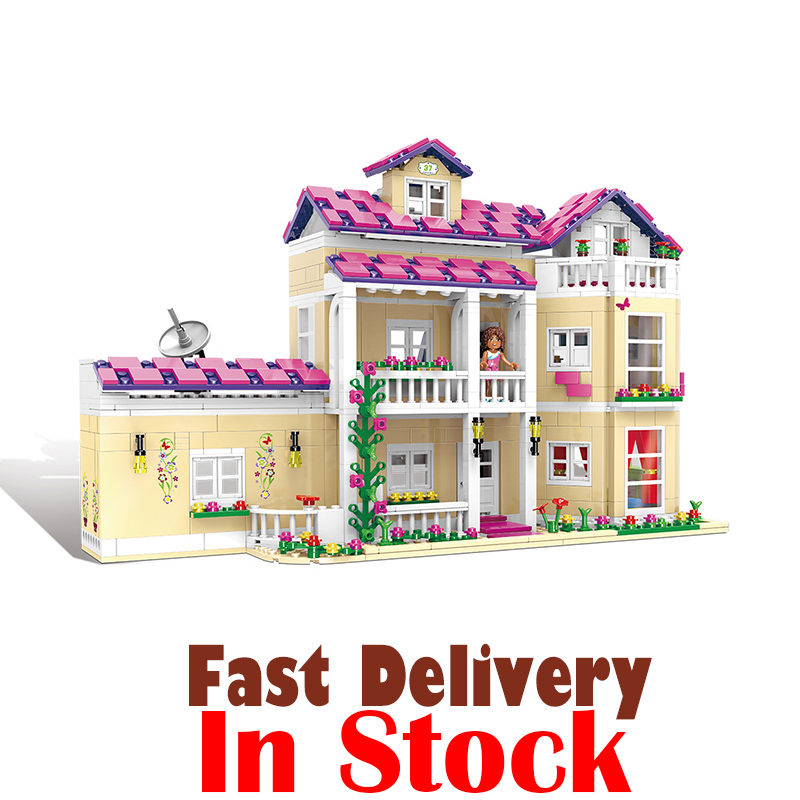 XINGBAO 12006 The Happy Dormitory Friends House Castle Building Blocks Bricks Enlighten Toys For Girls oyuncak Compatible with stzhou 10164 659pcs compatiable with legoe friends olivia s house building bricks blocks toys for children girl game castle gift