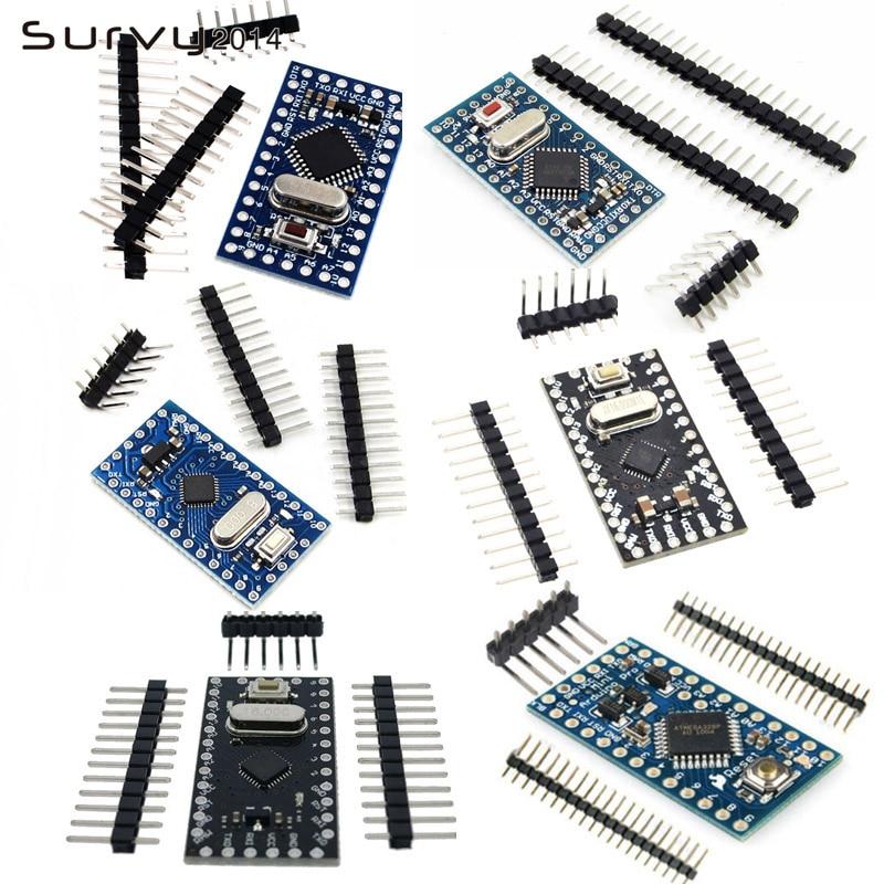 1pcs Pro Mini Atmega168/328 Pro Mini 328 Mini ATMEGA328 3.3V 8MHz /5V 16MHZ For Arduino