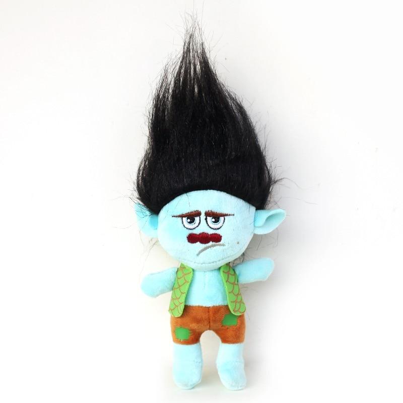 BARU 23-32cm Movie Trolls Plush Toy Poppy Cawangan Mimpi Berfungsi - Mainan lembut - Foto 4