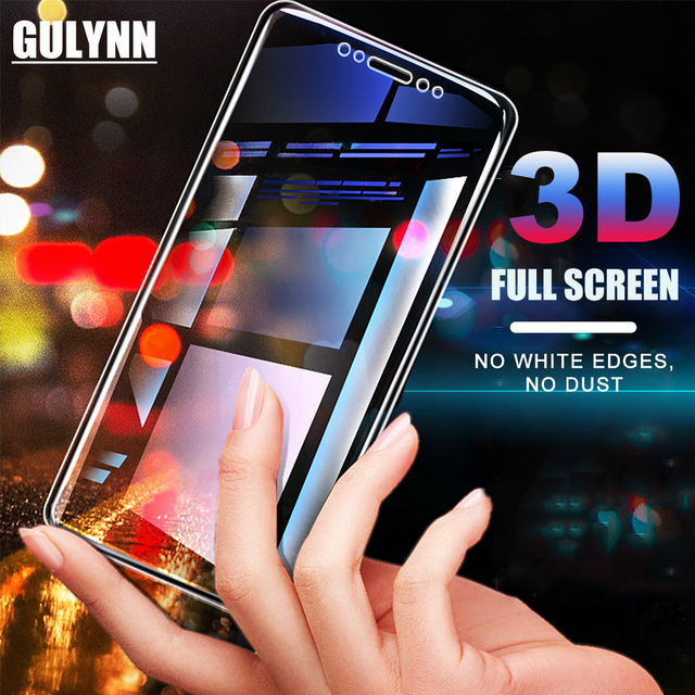 3D Full Tempered Glass For Samsung Galaxy A3 A5 A7 2017 9H...