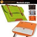 Для macbook air 15 Ноутбука Портфель 11 12 15.4 17 дюймов чехол Сумки для Macbook Air Pro Retnia 13 Laptop Sleeve сумка для Ноутбука защитные